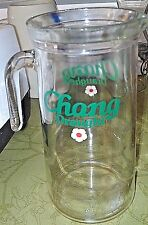 Chang Draught Beer Vintage Pitcher New Excellent rare