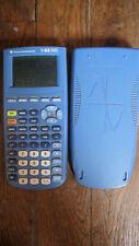 Calculatrice Texas Instruments TI-82 stats bleue + coque de protection
