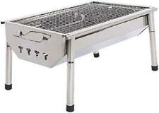 Charcoal Grill Barbecue Portable BBQ - Stainless Steel Folding BBQ Kabab