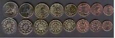 Portugal 2004 set of 8 euro coins 1 2 5 10 20 50 cent - 1 2 euro bimetal UNC