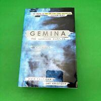 Gemina Book HC DJ Ami Kaufman the Illuminae  Files_02 FIRST Edition Stated