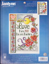 Counted Cross Stitch Kit:  Love Has No Boundaries