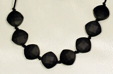 Black teething silicone necklace,Baby shower gift