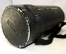"Nikon CL-45 Padded Hard Lens Case FOR 200MM F4 D MICRO NIKKOR 10X5"" large"