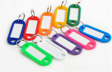 20 Pcs Keychain Key Ring ID Sports Tags Name Card Label luggage NEW