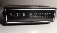 Vtg Panasonic Flip Alarm Clock Radio Parts Repair