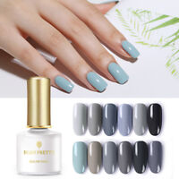 BORN PRETTY 6ml Grey Serie  Tips Soak Off UV Gellack Nail Art Gel Polish