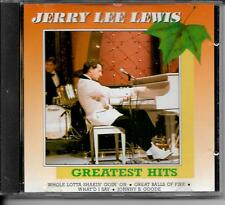 CD COMPIL 10 TITRES--JERRY LEE LEWIS--GREATEST HITS