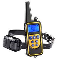 Entrenador recargable para perros Collar de entrenamiento impermeable ajustable
