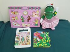 25cm soft plush the wiggles dorothy the dinosaur ballerina toy, dvd & puzzle etc