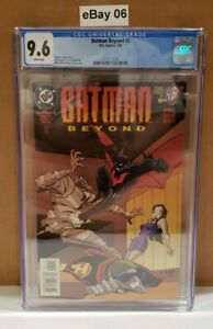 Batman Beyond #5 (1999 Series) CGC 9.6 CERT 3712112024