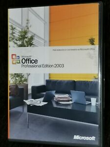 Microsoft Office Professional Edition 2003 Box,in Bulgarian with Product Key.