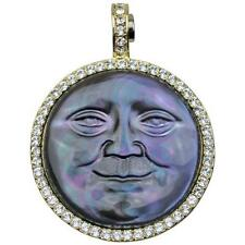 NEW KIRKS FOLLY MOTHER OF PEARL SEAVIEW MOON MAGNETIC ENHANCER GOLDTONE GREY