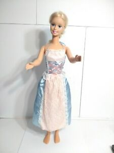 """MY LIFE SIZE BARBIE DOLL XLARGE 95CM 38"""" 1992 RETRO VINTAGE COLLECTIBLE BLONDE"""