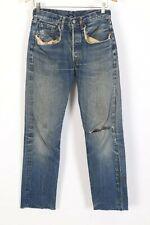 Vintage LEVI'S 501 Big E Button Fly S Series Denim Jeans USA Mens Size 28x32
