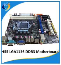 NEW Intel LGA 1156 Socket H55 Micro ATX Computer Motherboard DDR3 ECC 8GB WIFI