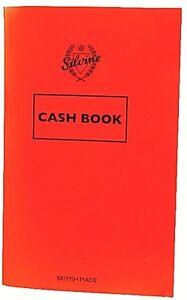 Silvine Cash Book - Memo Note Pad Accounting Money Keeping Free P&P