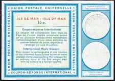 IRC INTERNATIONAL REPLY COUPON GB UK ISLE OF MAN PS STATIONERY