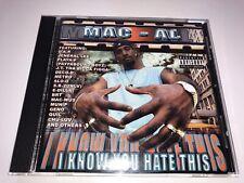 CD: MAC-AL - I Know You Hate This (2000 D.A.P. Prod.) Rare Bay Area Rap G-Funk