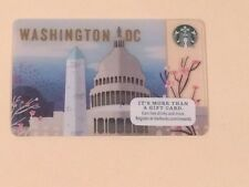 LIMITED EDITION: STARBUCKS GIFT CARD - 2016 Washington DC CAPITOL - $0