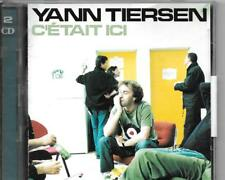 2 CD ALBUM LIVE 29 TITRES--YANN TIERSEN--C'ETAIT ICI--2002