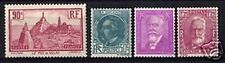 FRANCE STAMP ANNEE COMPLETE 1933 4 TIMBRES YVERT 290/93 NEUFS xx TTB VALEUR:147€