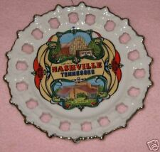 Souvenir Plate Nashville Tennessee 8 Inches