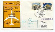 FFC 1966 Lufthansa LH 380 Boeing B727 Europa Jet Berlin Prag Frankfurt