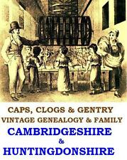 Cambridgeshire Huntingdonshire Genealogy Registers 59 Vintage Books on Data Disc