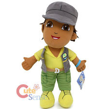 "Go Diego Go Diego Plush Doll 9"" Soft Stuffed Toy by Nanco - Grey Jacket"