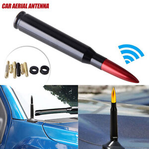 CNC Bullet AM/FM Antenna Mast Red for Dodge RAM 1500 2500 3500 2010-2019