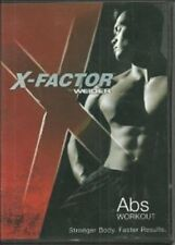 Weider X-Factor Abs Workout Fitness Exercise DVD NEW SEALED