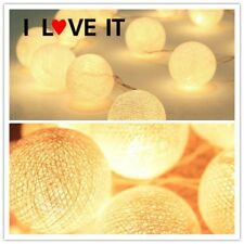 2.2M 20 LEDs Cotton Ball LED String Lights Party Wedding Christmas Yards Decor