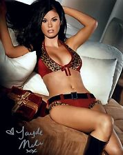 New listing Jayde Nicole Signed Photo 8x10 #148 Playboy Playmate of the Year 2008 Centerfold