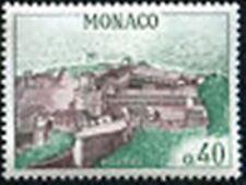 """MONACO STAMP TIMBRE N° 545A """" VUE DU PALAIS PRINCIER 40 C """" NEUF xx TTB"""