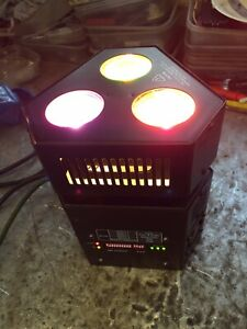1x tri truss warmer wedge dmx  effect light dj disco Dmx