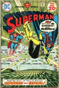 Superman #279-1974 vg/fn 5.0 Curt Swan / Batgirl team-up / Nick Cardy