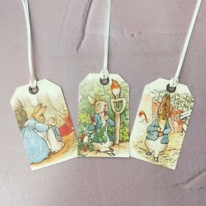 Peter Rabbit Gift Tags Vintage Style  - set of 8