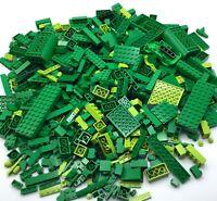 LEGO HUGE 1 POUND 12 OZ LOT OF GREEN PIECES ASSORTED COLOR BULK BRICKS PARTS