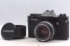 @ Ship in 24 Hours! @ EXC & Rare Black! @ Beseler Topcon Unirex SLR Film Camera