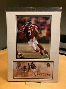 Michael Vick Atlanta Falcons 12X16 Matted Photo & Event Cover