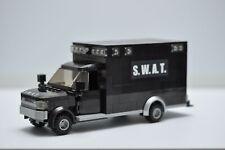 LEGO SWAT Police Black Hummer Medic Truck Custom Speed Champions