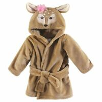 Hudson Baby Plush Bathrobe, Fawn, 0-9 Months