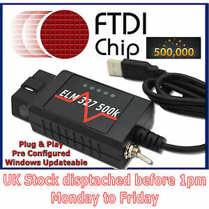 Modified ELM 327 USB suitable for Convers+ converse mod FMod for Ford