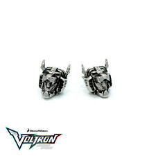 NEW Voltron Stainless Steel Stud Earrings - Officially Licensed by Han Cholo
