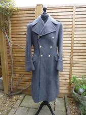 More details for korean war gieves raf royal air force officer's wool crombie greatcoat overcoat
