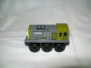 THOMAS & FRIENDS WOODEN RAILWAYS DODGE ENGINE