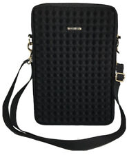 REBECCA MINKOFF Crossbody Purse Black Fits iPad 2 3 4 Case Travel Bag 3D Pyramid
