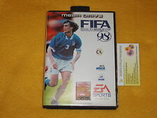 FIFA 98 x SEGA MEGA DRIVE NUOVO NEW PAL VERSION