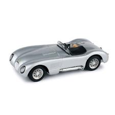 JAGUAR C TYPE STRADALE 1953 SILVER 1:43 Brumm Auto Stradali Die Cast Modellino